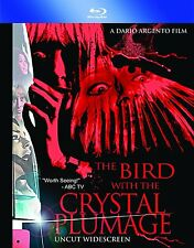 BIRD WITH THE CRYSTAL PLUMAGE (Dario Argento) -  Blu Ray - Sealed Region free