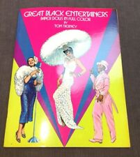 Vintage Great Black Entertainers Paper Dolls Collection Full Color Tom Tierney
