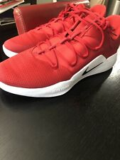 NEW RARE NIKE Hyperdunk X Low Basketball Shoes - RED AT3867-600 Size 18 US
