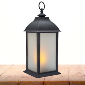 Flickering Flame LED Lantern Lamp Battery Powered Flameless Dancing Candle Light