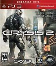 Crysis 2 Greatest Hits COMPLETE (Sony Playstation 3) PS PS3 **FREE SHIPPING!!