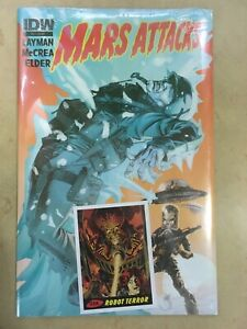 Mars Attacks (3rd Series) #6 NM; IDW | Horror Lot of 1
