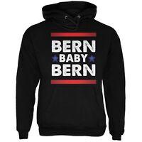 Election 2016 Bern Baby Bern Bernie Sanders Black Adult Hoodie