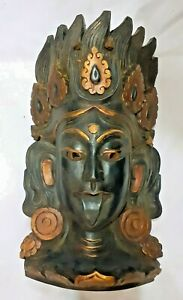 Kali Mask Wooden and handmade