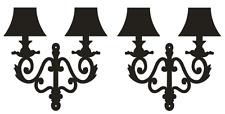 2 Stickers Appliques Murales -- PORT GRATUIT -- Prix dégressif