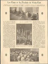 03 VICHY EAUX & PRODUITS DE VICHY-ETAT BASSIN HYDROMINERAL PAR DEPRIN 1925