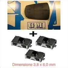 Tasti telecomando chiave OPEL ZAFIRA ASTRA CORSA ANTARA + 3 switch interruttori