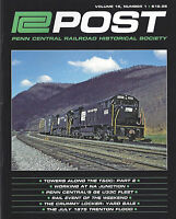 PC Post: Spring 2014 NEW publication of the PENN CENTRAL Historical Society
