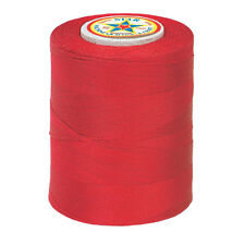 #128~STAR 100% COTTON MACHINE QUILTING & SEWING CRAFT THREAD~RED ~30 WT