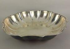 "International Silver IS Chippendale 678 Silverplate Vegetable Bowl Vintage 10.5"""