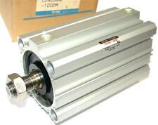"NEW SMC COMPACT 4"" AIR PNEUMATIC CYLINDER CDQ2B63-100DM"