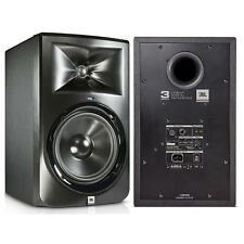 "JBL LSR308 8"" Two-Way Bi-Amplified Powered Studio Reference Speaker Monitor Pair"