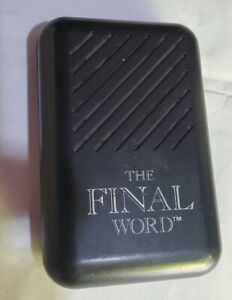 The Final Word Toy Dirty Sayings Works Great! Loud!!