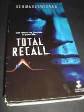 Total Recall (VHS, 1990) Arnold Schwarzenegger ~ Philip K. Dick