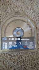 "Diamond - core cut (7"" x .060 x 7/8"") Star Blue dry tile diamond blade"