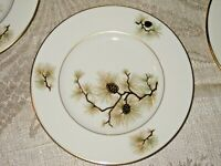 "8 Lenox ""Pine"" Dinner Plate Christmas China All in Mint Condition 10 1/2"" W-331"