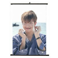 KPOP Bangtan Boys Rap Monster Hanging Painting Wall Scroll Poster