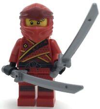 LEGO NEW RED NINJA KAI LEGACY NINJAGO SAMURAI MINIFIGURES SWORDS WEAPONS