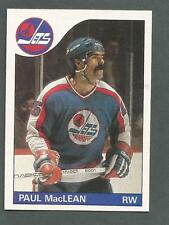 1985-86 Topps Hockey Paul MacLean #145 Winnipeg Jets NM/MT