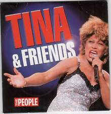 TINA TURNER & FRIENDS - UK PROMO CD: SAM & DAVE, MARVIN GAYE, DIONNE WARWICK ETC