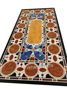 30 x 60 Inches Marble Dining Table Top with Different Pattern Conference Table