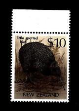 NEW ZEALAND - NUOVA ZELANDA - 1982/89 - Uccelli - 10$ - Kiwi (Apteryx australis)