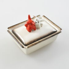 Hummel - Deckeldose - Dose - Hunde - Terrier - Porzellandose - Goebel