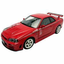 AUTOart 1/18 Nissan Skyline GT-R (R34) Nismo R-Tune (Red) Diecast Model 77357