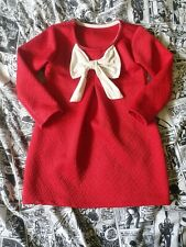 Girls Red Dress Age 2-3 Cute Holiday Christmas