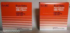Milk Strainer Filter Strainer Disks, 6-1/2 Inch, 2 Boxes of 100 New *KenAg*