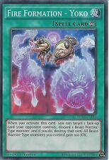 YU-GI-OH: FIRE FORMATION - YOKO - SUPER RARE - MP14-EN104 - 1st EDITION
