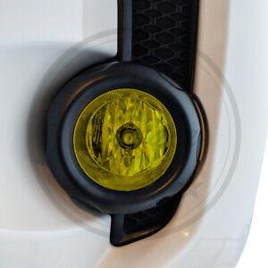 Yellow Fog Light Precut Overlay Tint Cover Kit Fits Toyota 4Runner 2015-2021