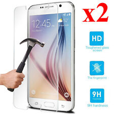 2x Newest Explosion-proof Tempered Glass Screen Protector For Samsung Galaxy S6