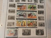 Set of 7 Disney Stamps 1982 from Bhutan The Jungle Book, MNH