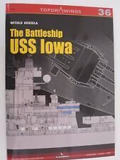 Kagero Book: The Battleship USS Iowa (Topdrawings) Line Drawings