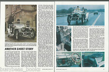 1906 ROLLS-ROYCE Silver Ghost road test from 1977 British auto magazine 7 photos