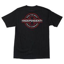 Independent Trucks Underground Skateboard T Shirt Black Medium