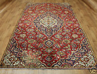 Traditional Vintage Wool Handmade Classic Oriental Area Rug Carpet 278 x 170 cm