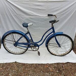 Vintage Schwinn Hollywood Girl's Bicycle, Blue
