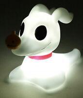 Disney Nightmare Before Christmas Zero Figural Dog Mood Light LED Desk Lamp