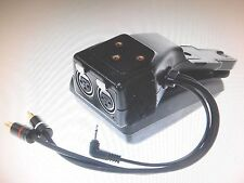 CANON MA-100 DUAL XLR MICROPHONE ADAPTER SHOULDER PAD FOR XL1 & XL1s / - LOT 853