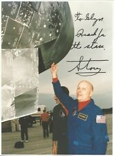 More details for nasa astronaut story musgrave hand signed a4 photo autograph space shuttle sts-6