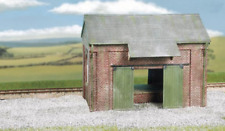 Wills CK19 Craftsmans Kits Goods Shed, Brick Plastic Kit OO Gauge