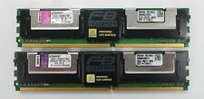 16GB (2X 8GB) Kingston PC2-5300F SERVER RAM KIT KTH-XW667/16G  667MHZ