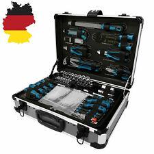 Silber 208 tlg Werkzeugkoffer Werkzeugkiste Werkzeugbox Alu Universal Mit Rädern