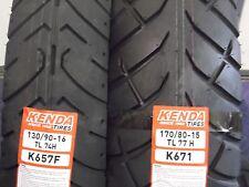 YAMAHA V-STAR XVS 1100 SILVERADO TIRE SET MOTORCYCLE TIRES 130/90-16 170/80-15