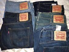 Levis 511 Slim Fit Jeans Many Sizes Colors Blue Grey Black Each $$