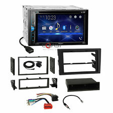 Pioneer DVD BT Stereo Dash Kit Bose Harness for 02-08 Audi A4 Symphony Radio