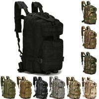 Outdoor Military Tactical Rucksacks Backpack Sport Camping Hiking Trekking Bag