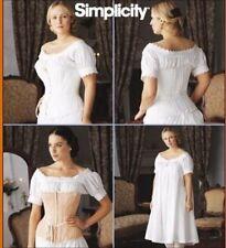 Simplicity Sewing Pattern Corset Chemise McCain Costume 14 16 18 20 Uncut 7215